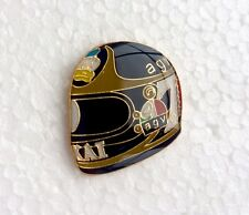 Barry Sheene AGV Helmet Pin Badge Roberts, Hailwood, Dunlop, Rossi, Mamola, Read
