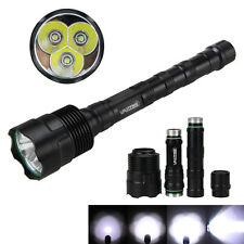Trustfire 6000Lm TR-3T6 3x XM-L T6 LED Tactical Flashlight Torch Lamp Hunt 5Mode