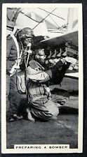 Royal Air Force   Bomber Training   Vintage 1930's Photo Card  VGC