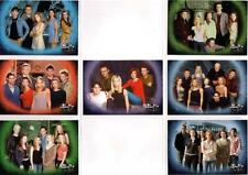 Buffy The Vampire Slayer Sky TV Seven Card Promo Set - New