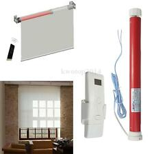 DIY 12V Electric Roller Blind / Shade Tubular 25mm Motor Kit with Remote Control