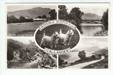 Callander Golf Club House Bridge Falls Of Leny Loch Lubnaig 1957 Perthshire RP