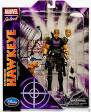 "7"" MARVEL SELECT AVENGING HAWKEYE HERO AVENGERS ACTION FIGURE KIDS FIGURINES TOY"