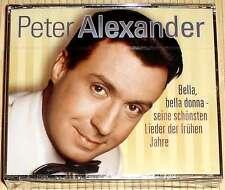 NEU, OVP 3-CD-Box Peter Alexander - BELLA, BELLA DONNA Seine schönsten Lieder