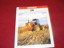 Versatile 276 Bidirectional Tractor Dealer's Brochure 614512-7-87