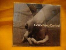 MAXI Single CD SONO Keep Control 5TR 2001 house techno tech house