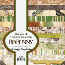 Nature Trail Mix Collec Scrapbooking 6x6 Paper Pad Bo Bunny 36 Pages BoBunny NEW