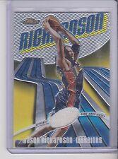 2002-03 topps finest Jason Richardson Jersey 358/999 Golden St. Warriors #119