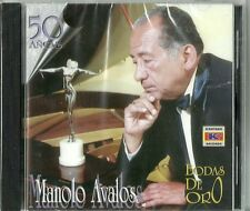 Manolo Avalos 50 Anos Bodas De Oro Latin Music CD New