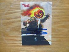 2009 SPIDER-MAN ARCHIVES JACK O'LANTERN CARD SIGNED ARTHUR SUYDAM, WITH POA