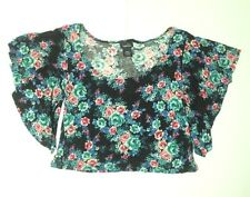 RUE21 Women'sT-shirt Tank Top Multi-Color Floral Small *FREE SHIPPING* A36