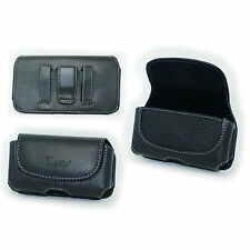 Belt Holster Pouch for LG Optimus Dynamic 2 II LGL39C L39c (Fits w Hard case on)