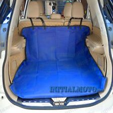 Blue Waterproof Fabric Car Hatchback Pets Dogs Cats Cover Cargo Liner Protector