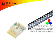 100PCS 0805(2012)SMD SMT RGB Red Green Blue Light 4Pin Common Anode LED Diodes