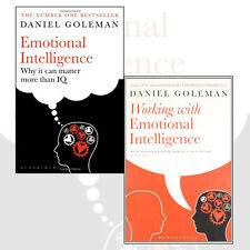 Daniel Goleman 2 Books Collection Set (Emotional Intelligence) Paperback NewPack