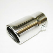 Chrome Exhaust Pipe Sport Muffler Tip For BMW Serie 1 3 5 E36 E46 E21 E30 E28