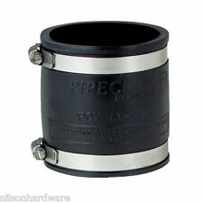 "Flexible Fernco Rubber Boot 3"" PVC Plastic Pipe Connector Coupling Coupler"