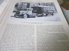 Nutzfahrzeug Archiv 1 Geschichte 1280 Marke Kraus Maffei Frankonia Zugwagen 1931