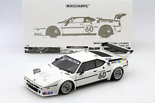BMW M1 Pro Car #60 Winner Pro Car Series Zolder 1979 de Angelis 1:18 Minichamps