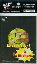 1999 World Wrestling Federation 99 WWF SuperSize 2 Sticker Artbox Austin 3:16