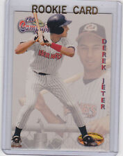 DEREK JETER ROOKIE CARD Greensboro Hornets MINOR LEAGUE BASEBALL RC $$ Yankees!