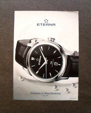 M525 - Advertising Pubblicità - 2013 - ETERNA 1948 AUTOMATIC