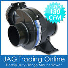 "12V AQUATRACK BLK 130 CFM FLEX/FLANGE MOUNT BILGE AIR BLOWER 3"" HOSE Marine/Boat"