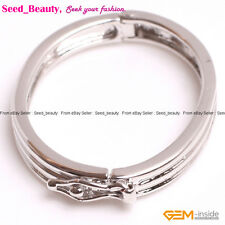 14K White Gold-filled Necklace Shortener Jewelry Making Clasp 21mmx30mm 1 Piece