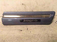 MERCEDES E CLASS W210 RIGHT DRIVER SIDE CHROME WING TRIM AVANTGARDE 2106900282