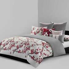 N Natori® Cherry Blossom Reversible King Comforter Set