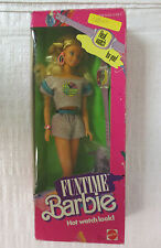 NEW IN BOX NRFB 1986 MATTEL FUNTIME BARBIE DOLL HOT WATCH LOOK #3718 PURPLE