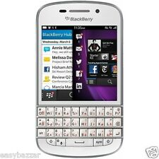 Deal 24 | Original Blackberry Q10 White Unlocked GSM Qwerty Keypad Smartphone
