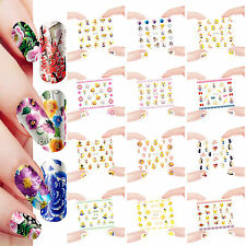 12 Sheets Nail Manicure Tips Water Transfer Decals Stickers Sailor Moon 337-348
