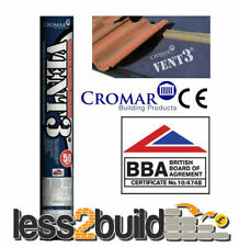 Breathable Membrane Roofing Felt Cromar Vent 3-High Performance Underlay 1.5x50m