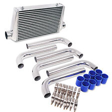 440x300x76mm FRONT MOUNT INTERCOOLER FMIC KIT FOR SUBARU IMPREZA WRX STI LEGACY