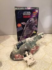 "Star Wars Boba Fett's ""Slave 1"" 1996 - Shadows of the Empire - Rare!"