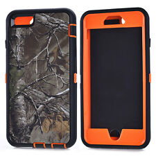 Realtree Camo Shockproof Phone Case Back Cover Skin For iPhone 5 5s SE 6 6s Plus
