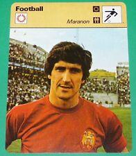 FOOTBALL MARANON 1978 ESPAÑA SPORTING GIJON REAL MADRID ESPAÑOL BARCELONA