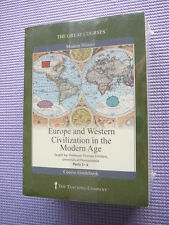 Teaching Co Great Courses DVDs        EUROPE and WESTERN CIVILIZATION MODERN AGE
