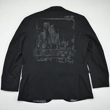 Kenneth Cole New York Men's Black Suit Jacket Size 44 R