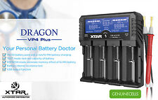 XTAR DRAGON VP4 PLUS PREMIUM Li-ion/Ni-MH LCD Charger