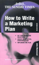 How to Write a Marketing Plan (Creating Success),ACCEPTABLE Book