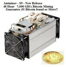HOT! 7,000 GHS - 48 HOUR BITCOIN MINING CONTRACT - GUARANTEED .01 BITCOIN RETURN