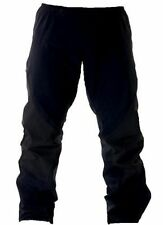 BLACK WATERPROOF WINDPROOF TROUSERS Mens XS pants gents hiking walking bottoms