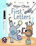 Wipe-Clean First Letters (Usborne Wipe-Clean Books)