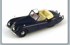 1953 JAGUAR XK 120 XK120 CABRIO BLUE 1/43 CAR MODEL BY SPARK S2112