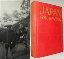 1911 Trans-Siberian Railway Japan China Japan For A Week Britain For Ever Travel