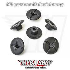 15x KUNSTSTOFFMUTTER MERCEDES & BMW KUNSTSTOFF MUTTER RADHAUSSCHALE 2019900050