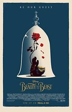 "Beauty and the Beast movie poster (c) (2017)  -  11"" x 17"" inches - Emma Watson"