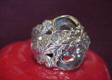 Wallace Grand Baroque Sterling Silver Spoon Ring size 10 or tell us your size